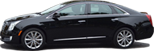 3 passenger Cadillac XTS Luxury Sedan up to 3 people