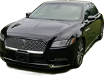 Lincoln Continental Luxury sedan up to 3 people