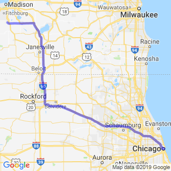 Car service to Chicago Loop